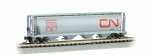19163 Bachmann N 4 Bay Hopper Canadian National (Noodle)